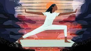 Indian yoga master